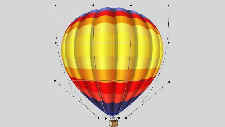 ps教程:制作热气球(原创教程)