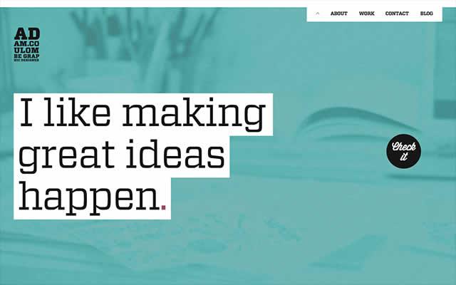设计分享       在国外的网页设计中